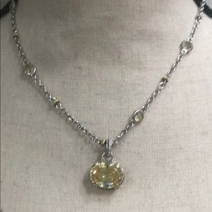 AUTHENTIC JUDITH RIPKA NECKLACE